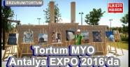 Tortum MYO Antalya EXPO 2016'da