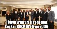 TÜGVA Başkan SEKMEN'i Ziyaret Etti