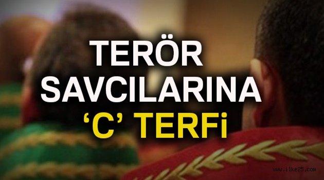 Terör savcılarına 'C' terfi