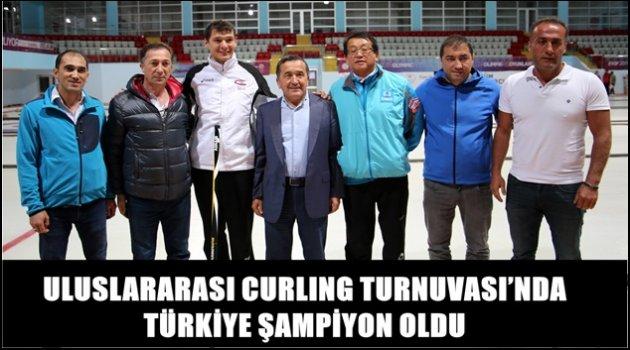ULUSLARARASI CURLING TURNUVASI'NDA TÜRKİYE ŞAMPİYON OLDU