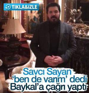 Savcı Sayan'dan Baykal'a referandum çağrısı