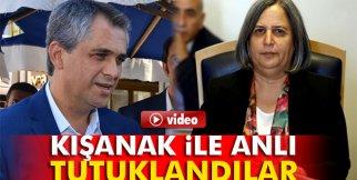 Diyarbakır Büyükşehir Belediyesi Eş Başkanları Kışanak ile Anlı tutuklandılar